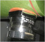 电缆接头与设备连接